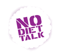 No Diet Talk Badge